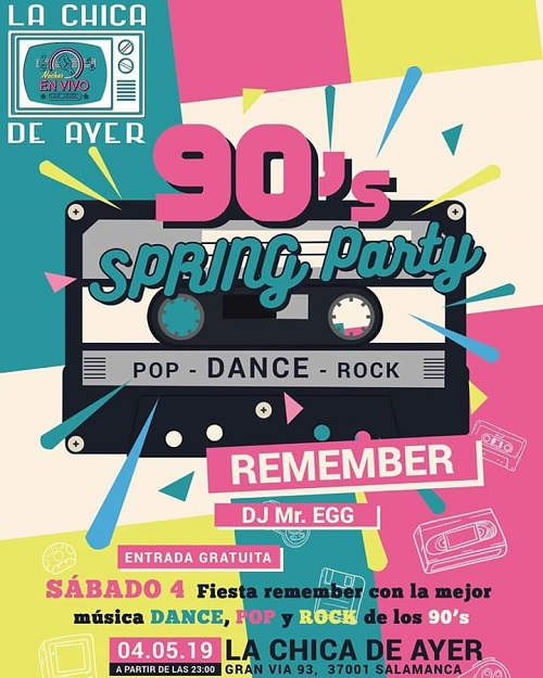 90's SPRING PARTY
