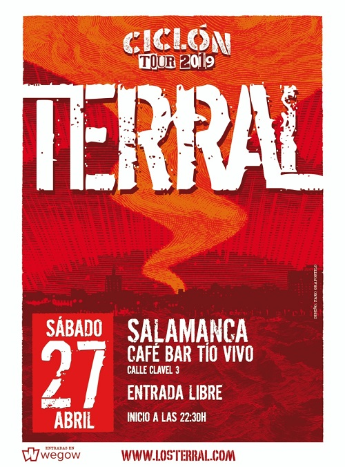 TERRAL Ciclón TOUR 2019