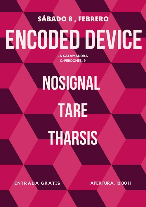 ENCODED DEVICE Nosignal + Tare + Tharsis