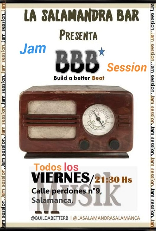 JAM BBB (Build a better Beat) LA SALAMANDRA