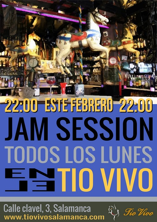JAM SESSION FEBRERO EN 'TIO VIVO'