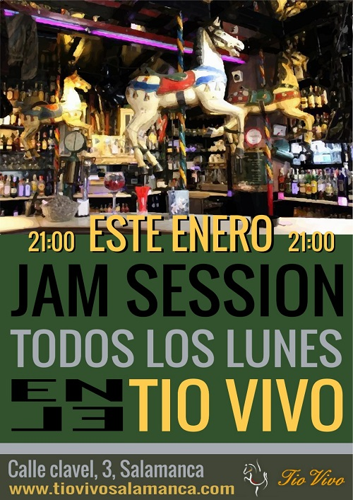 JAM SESSION ENERO EN 'TIO VIVO'