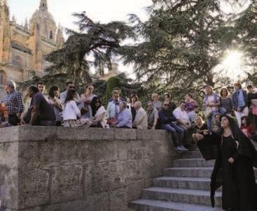 Salamanca, tu tiempo es de piedra y oro