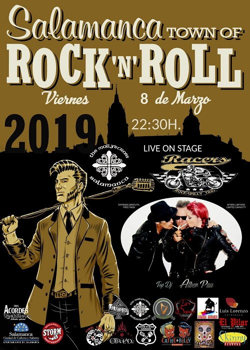 Salamanca TOWN OF ROCK'N'ROLL, RACERS + Top Dj + Alber Pau
