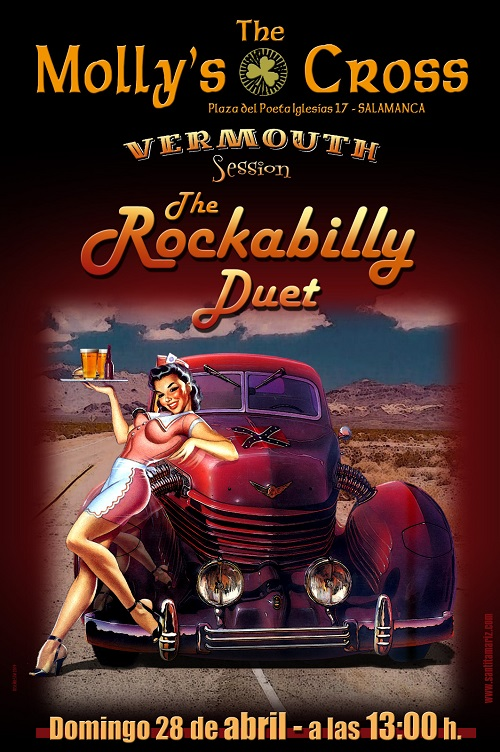 THE ROCKABILLY DUET