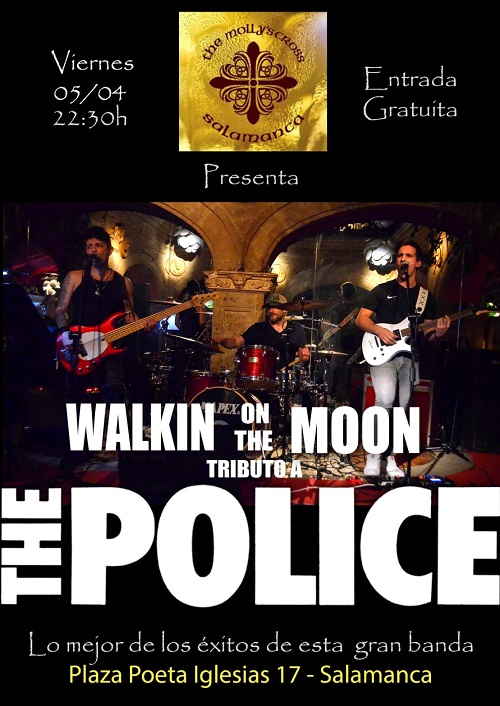 WALKIN on the MOON Tributo a THE POLICE