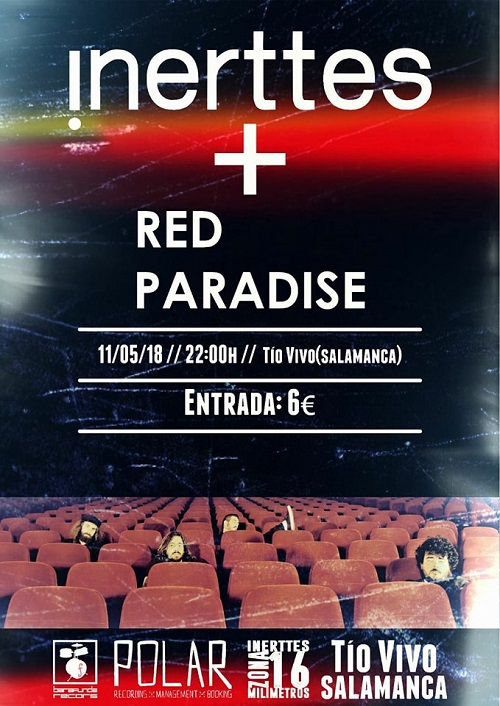 INERTTES + RED PARADISE