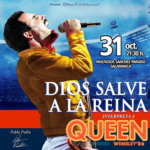DIOS SALVE A LA REINA INTERPRETANDO A 'QUEEN'